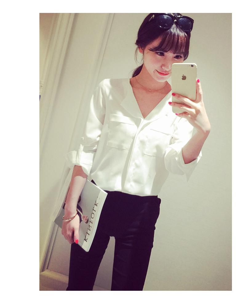 áo sơ mi nữ trắng dài tay 15