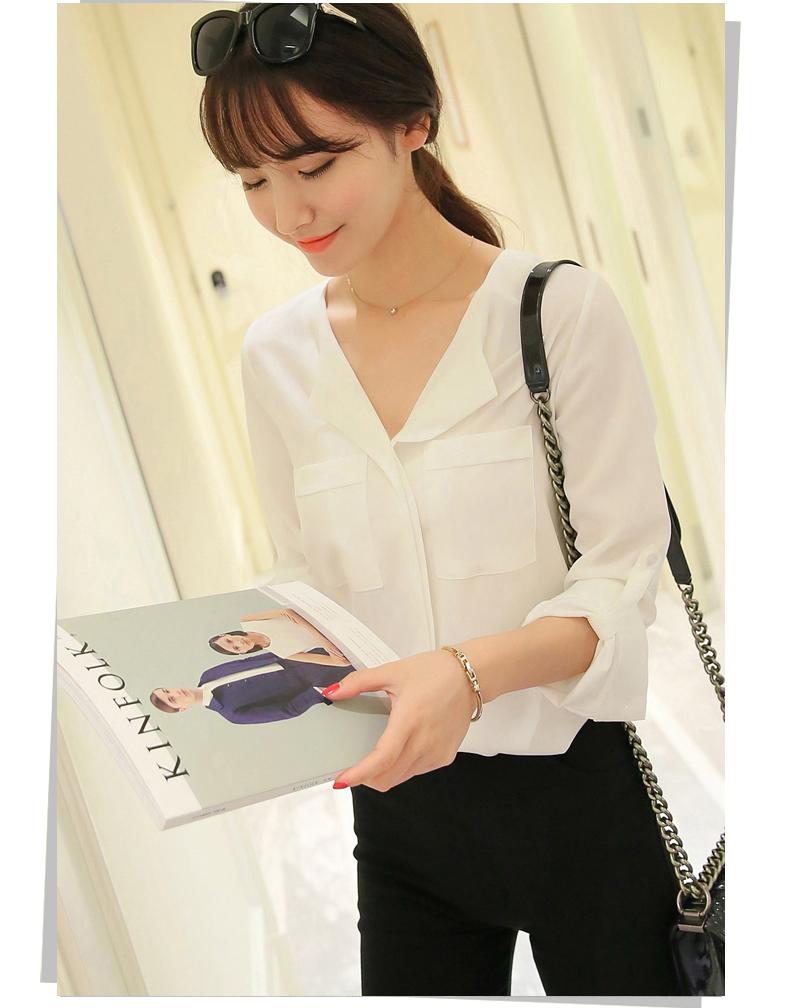 áo sơ mi nữ trắng dài tay 5