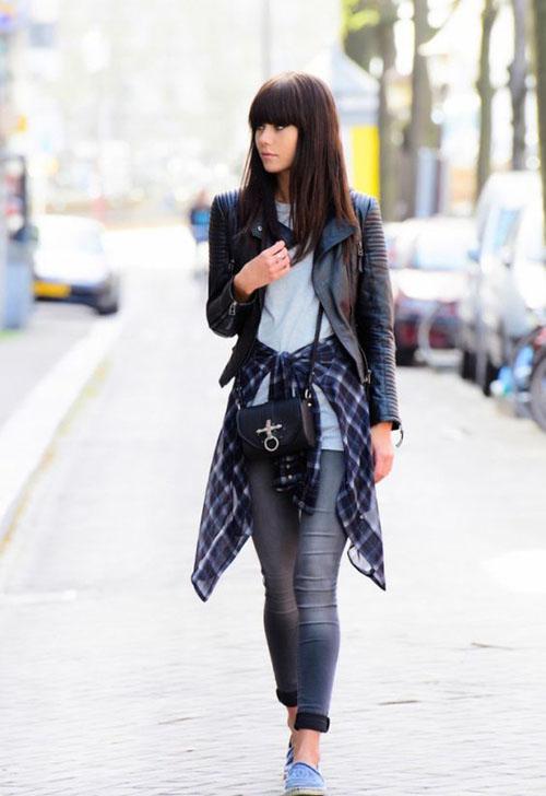 phối đồ với quần jean skinny 15
