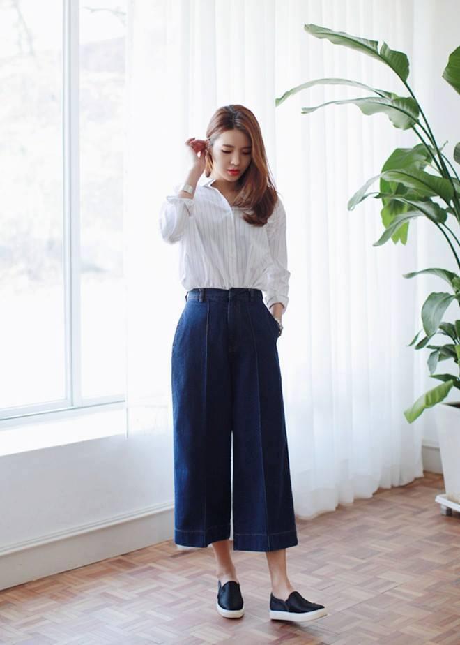 quần jean nữ ống suông 06