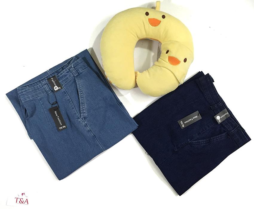 quần jean nữ ống suông 07