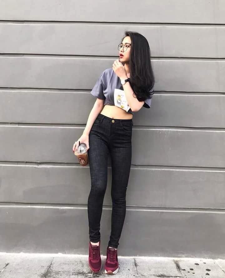 quần jean nữ xước 09