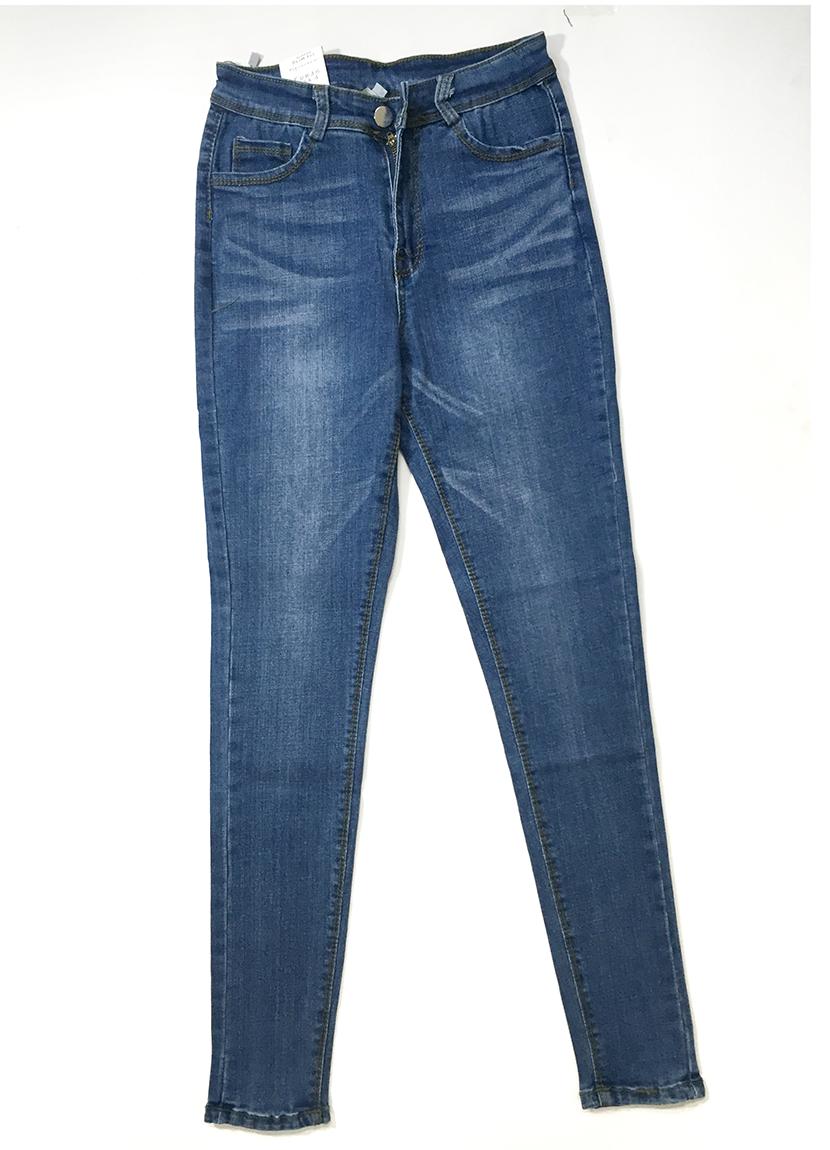 quần jean xanh trơn 4