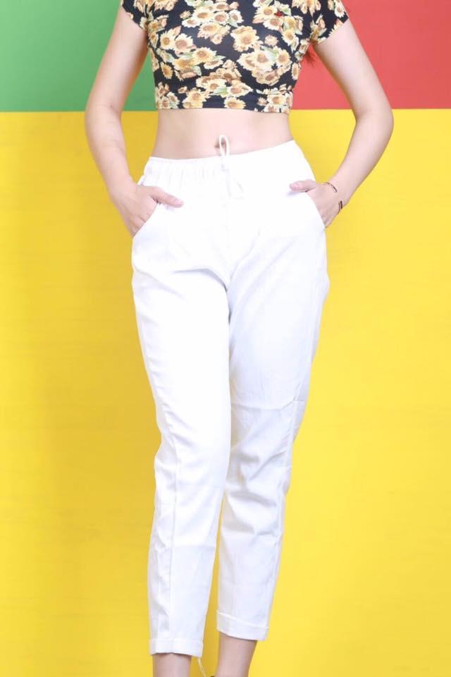 Quần Jeans nữ lưng thun Asos 1