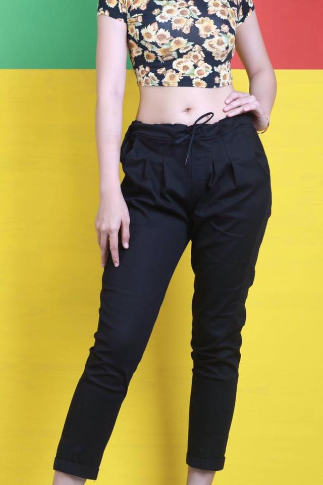 Quần Jeans nữ lưng thun Asos