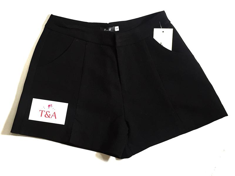 quần short nữ lai V 07