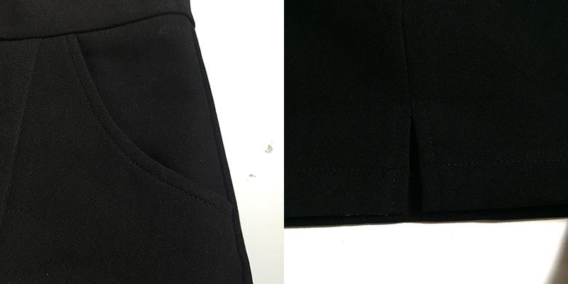 quần short 2 túi lai V 10