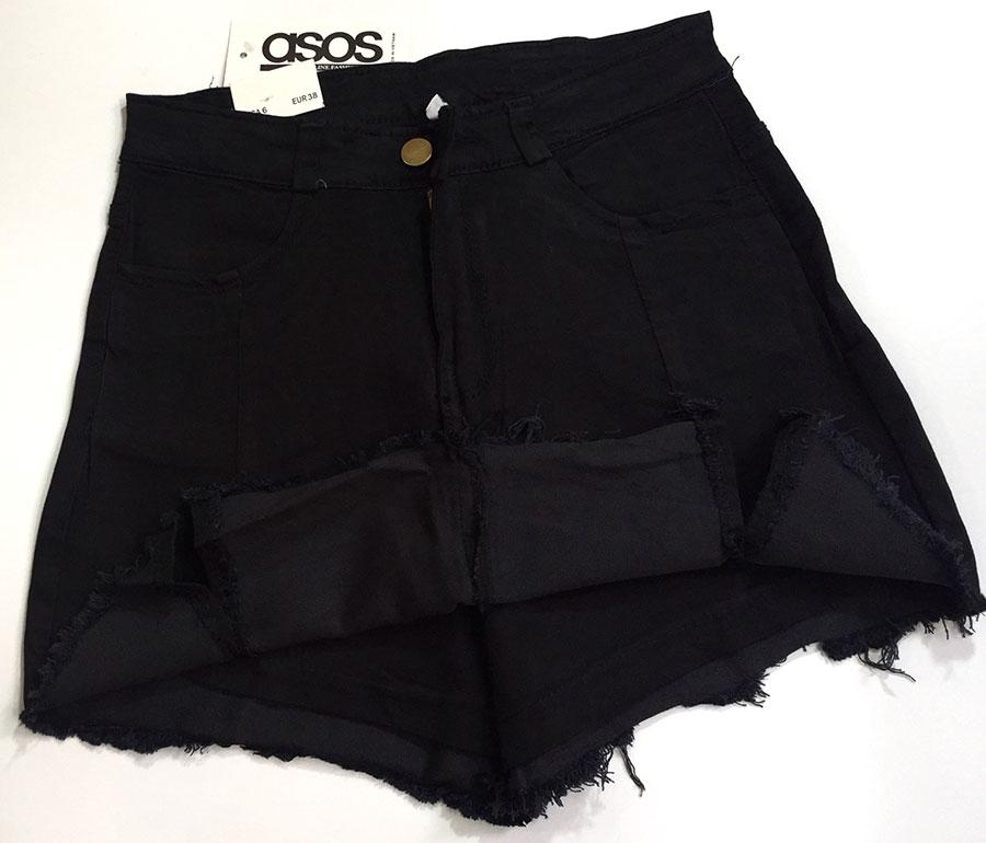 quần short jeans giả váy 10