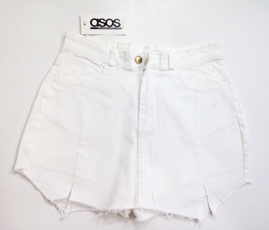 quần short jeans giả váy 11