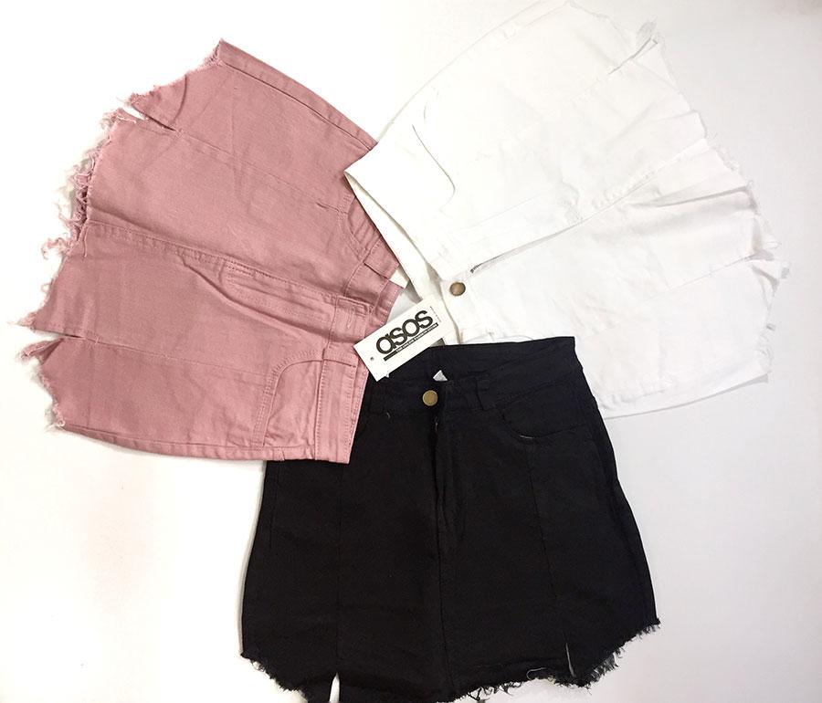 quần short jeans giả váy 7