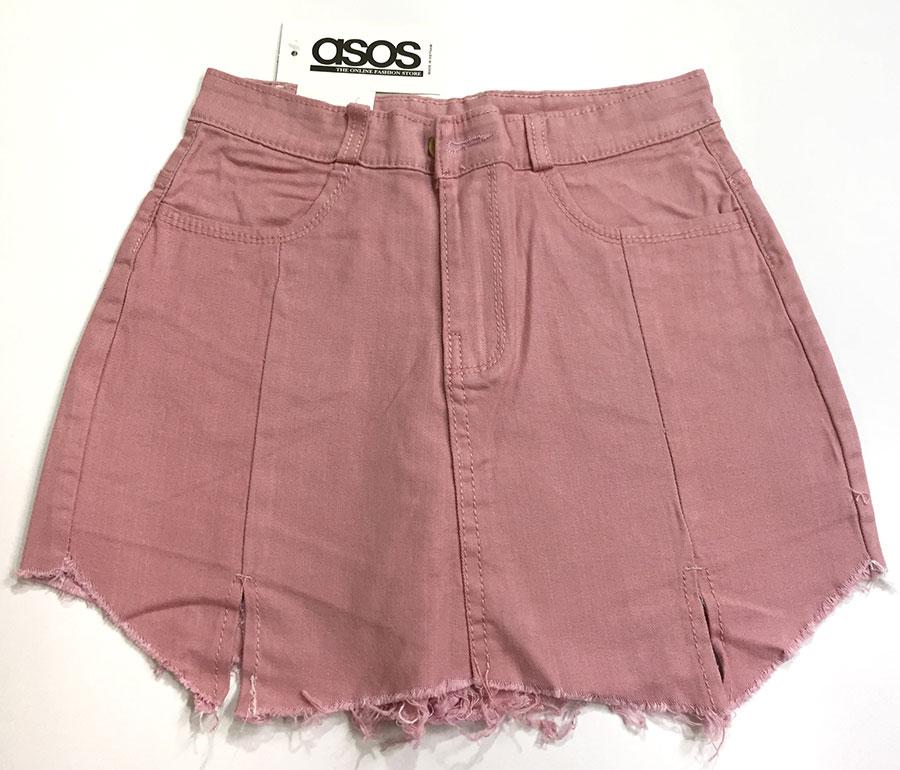 quần short jeans giả váy 8