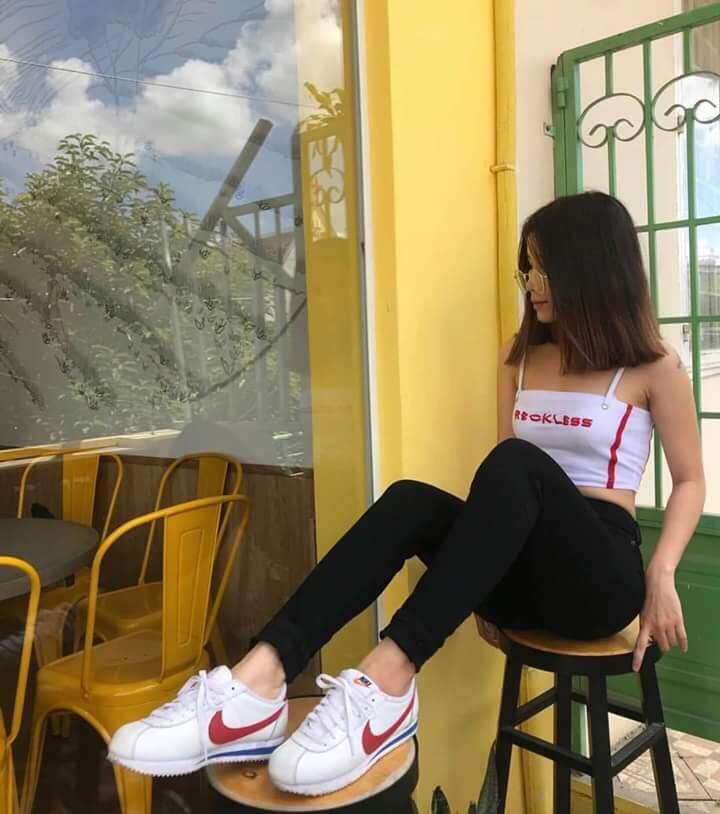 quần skinny nữ cạp cao