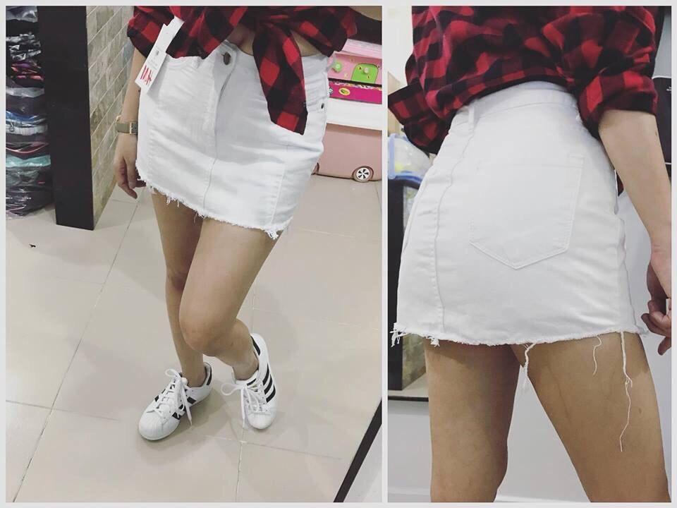 chân váy jeans asos 7