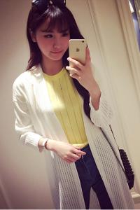Áo len tay dài